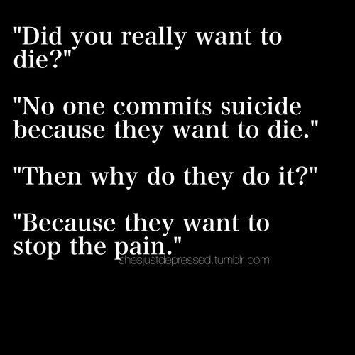 Death Suicide Depressed Quotes: Image Result For Depression Death Quotes