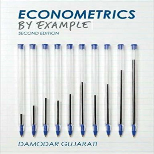 Econometrics By Example 2nd Edition By Gujarati Solution Manual