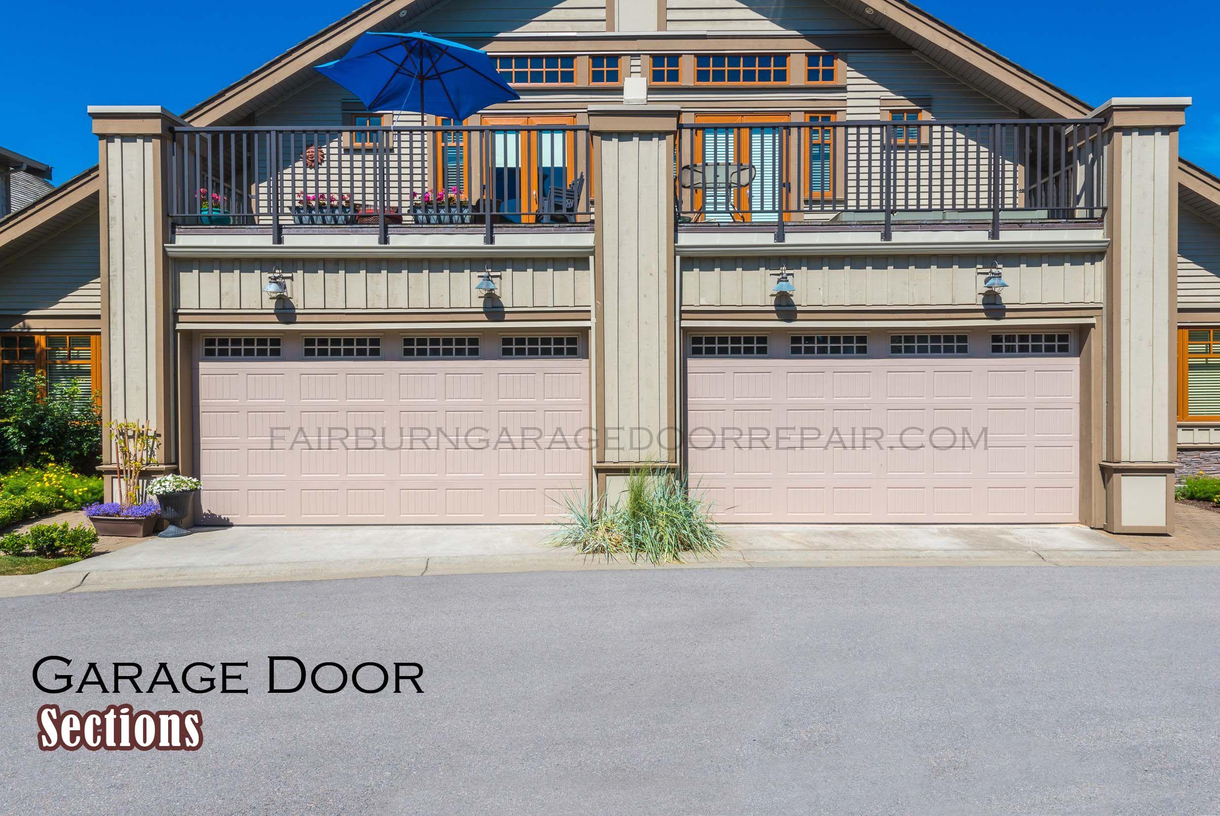 Fairburn Garage Door Sections With Images Garage Doors Garage Door Repair Service Garage Door Repair