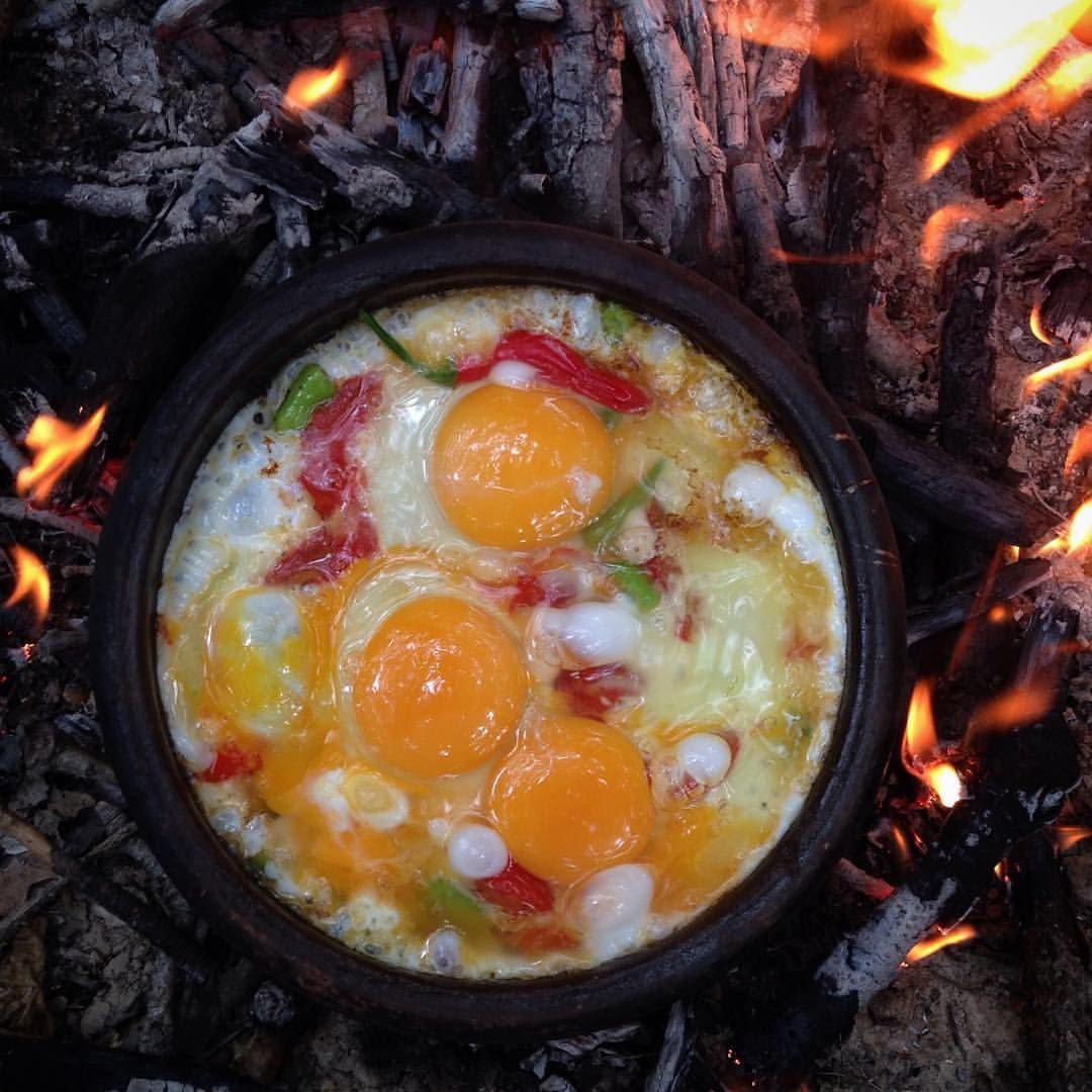 Omlette Food Instafood Coffeetime Breakfast Bushcraft Wildcamping Nature