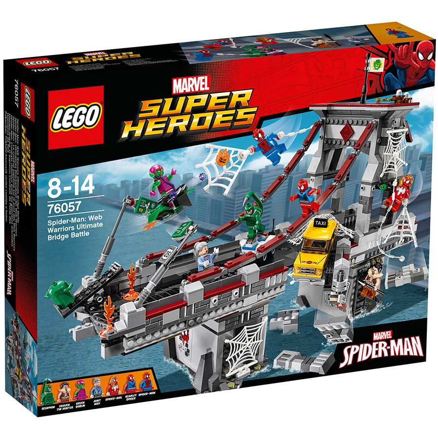 WEB WARRIORS ULTIMATE BRIDGE BATTLE New /& Sealed LEGO 76057 Spider-Man