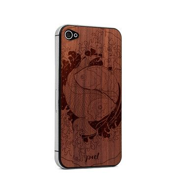 Yin Yang iPhone 4/4S Skin Cedar, $23, now featured on Fab.