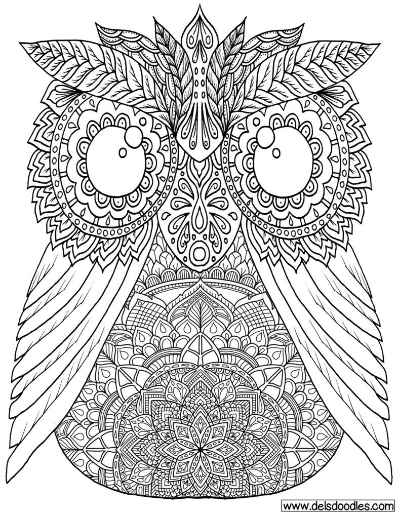 Owl Colouring Page by WelshPixie on DeviantArt | Coloring - Birds ...
