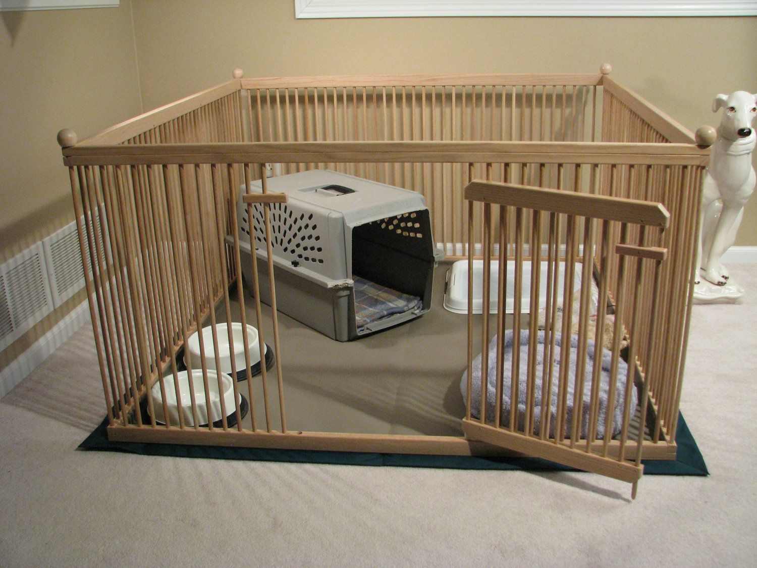 Playpen for puppies when company\'s over. | Dog Stuff & Ideas ...