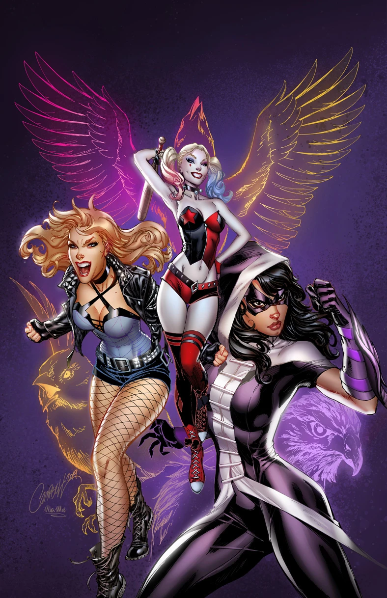 Original Art Birds Of Prey 1 In 2020 Scott Campbell J Scott Campbell Birds Of Prey