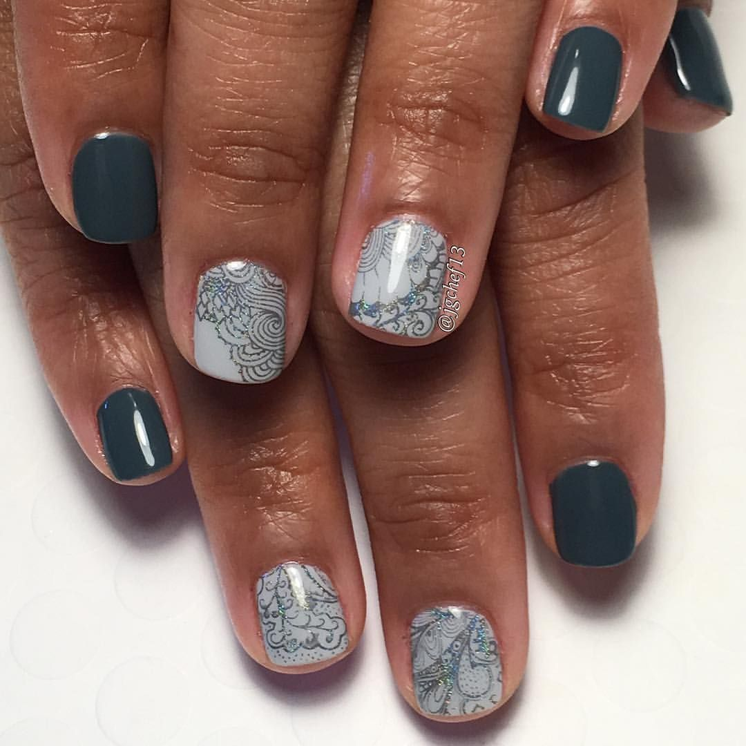 Cannoli - Any dark color - Holo stamping in similar dark color ...