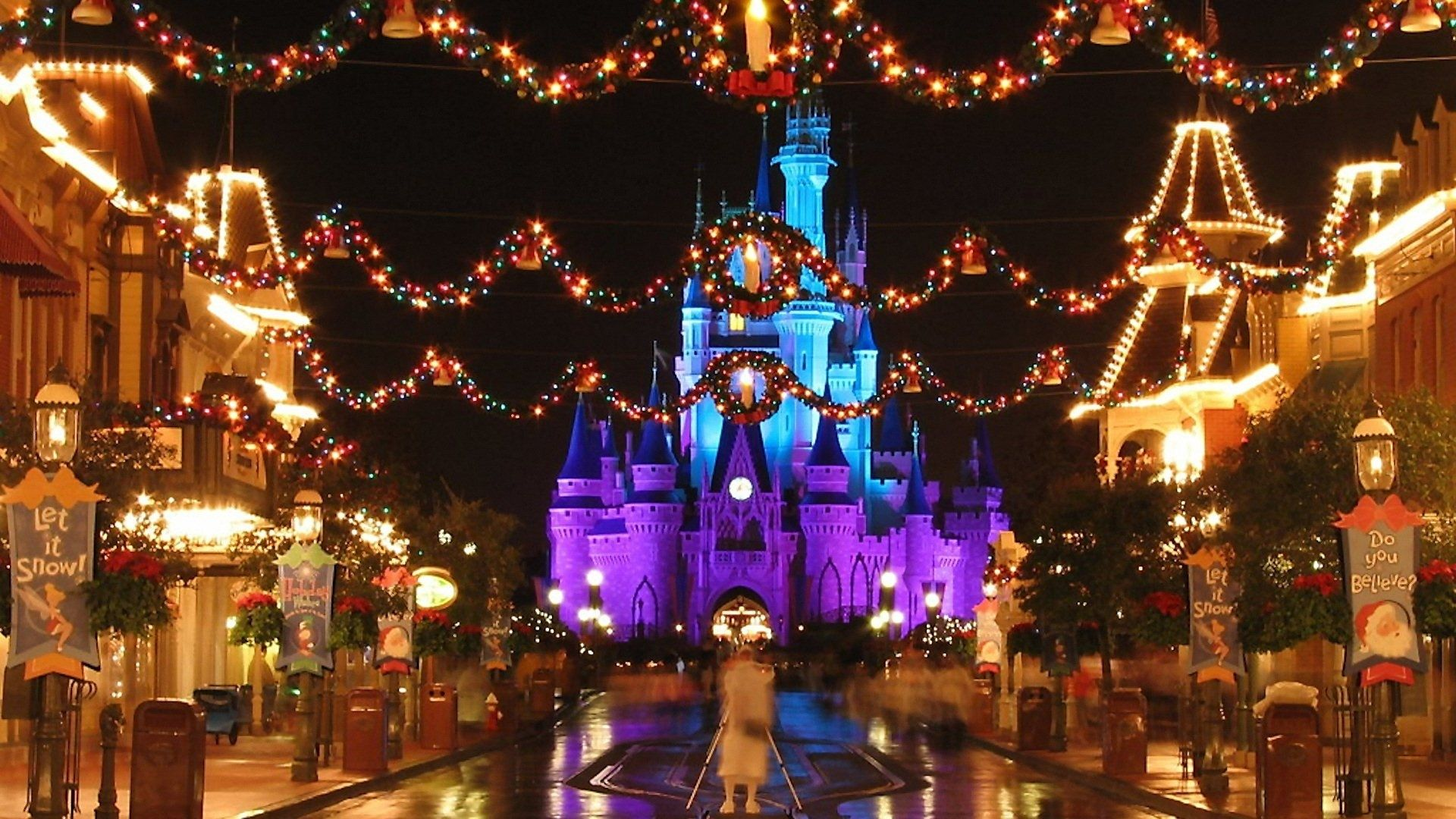 10 Latest Disney World Christmas Wallpaper FULL HD 1920