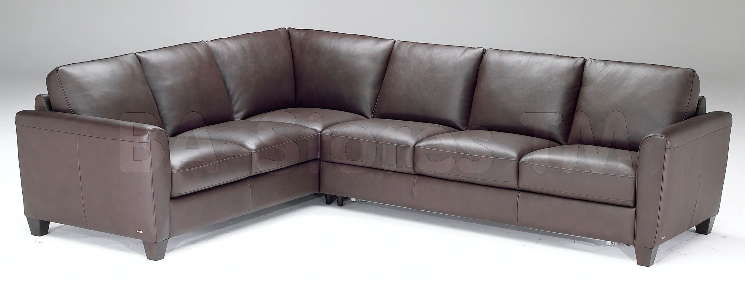 Natuzzi leather sectional A450 Fiarman Residence