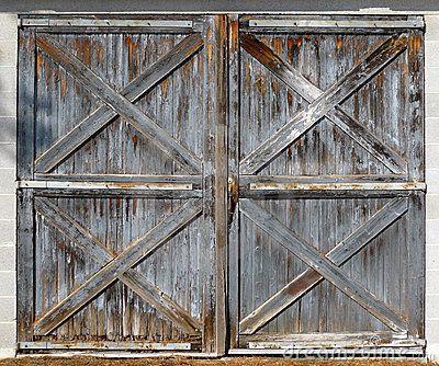 Old Barn Double Doors Old Barn Doors Exterior Barn Doors Barn Door Window