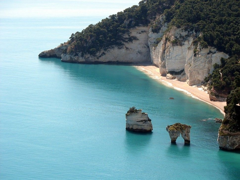 Best beaches in Europe - Baia delle Zagara -  European Best Destinations