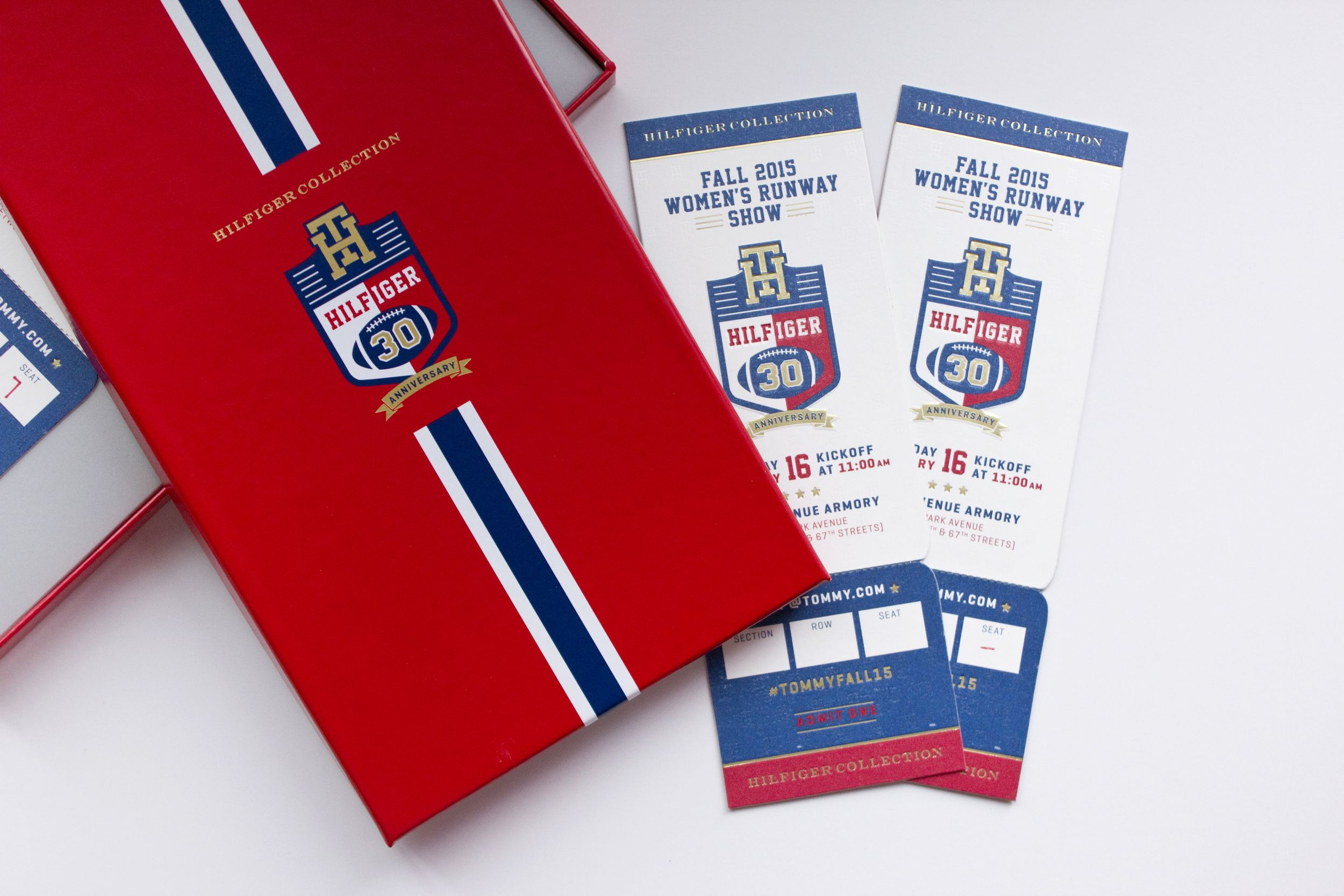 Tommy Hilfiger Fall 14 Runway Invite