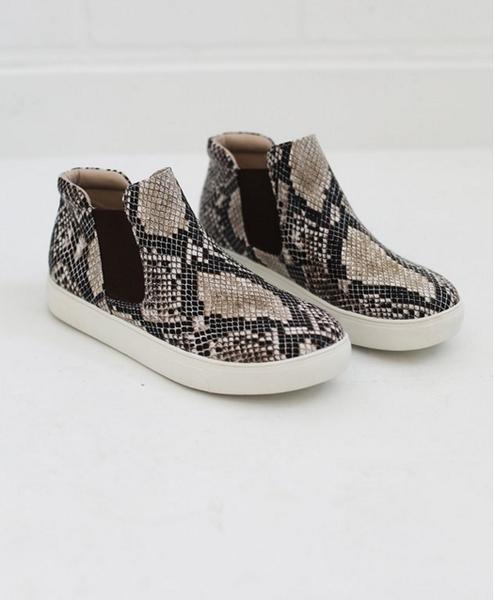 Coconuts by Matisse Harlan Snake Print Sneaker
