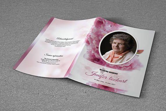 Printable Funeral Program Template Memorial Program Obituary - funeral program template microsoft