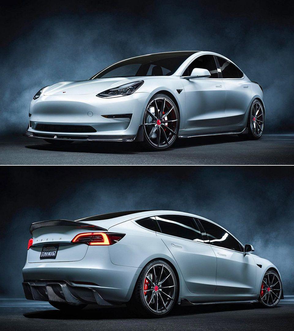 Vorsteiner Transforms The Tesla Model 3 Into A Sleek Street Beast Tesla Model Electric Cars Tesla