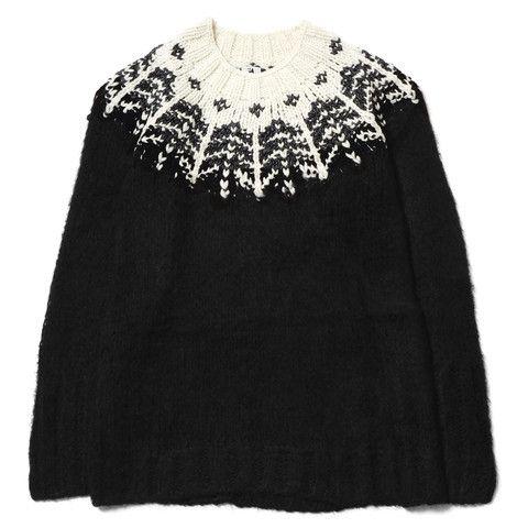 Sasquatchfabrix. Nordic Mohair Knit