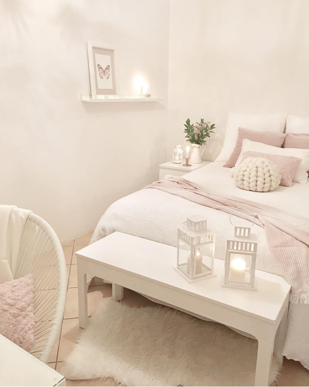 White Dreams In Diesem Wunderschonen Schlafzimmer Sorgt
