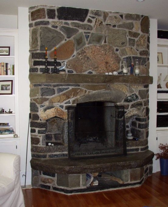 Beautiful Flagstone Fireplace Pictures To Design Your Home Decor