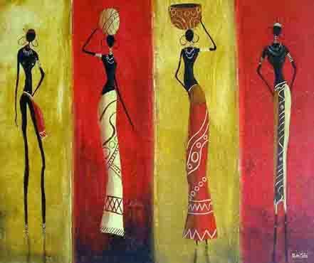 El arte me define #afrikanischerstil