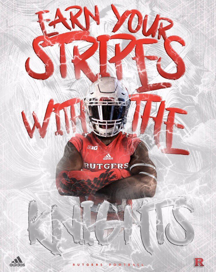 Rutgers College Football Recruiting Football Recruiting Sports Graphics