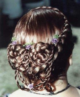 Renaissance Braided Hairstyles