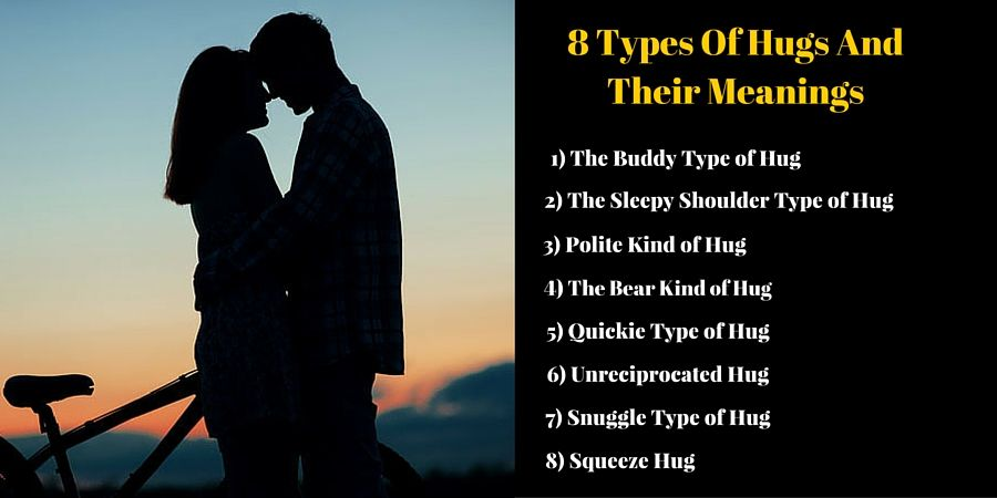 8 Types Of Hugs And Their Meanings Types Of Hugs Hug Meant To Be
