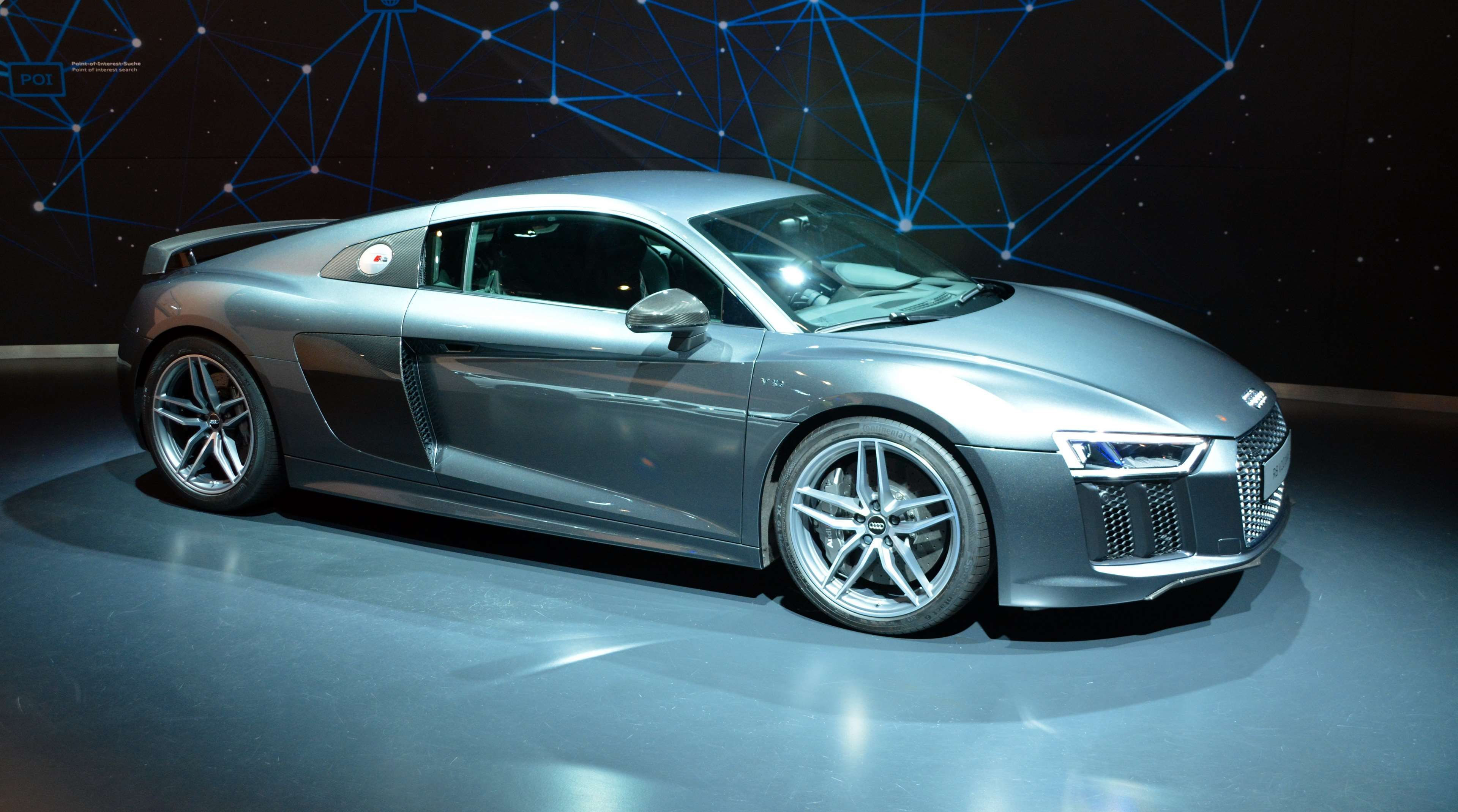 Marvelous 2017 Audi R8 2017 AUDI R8 (V10) CHARCOAL GRAY / BLACK S1524 | Car