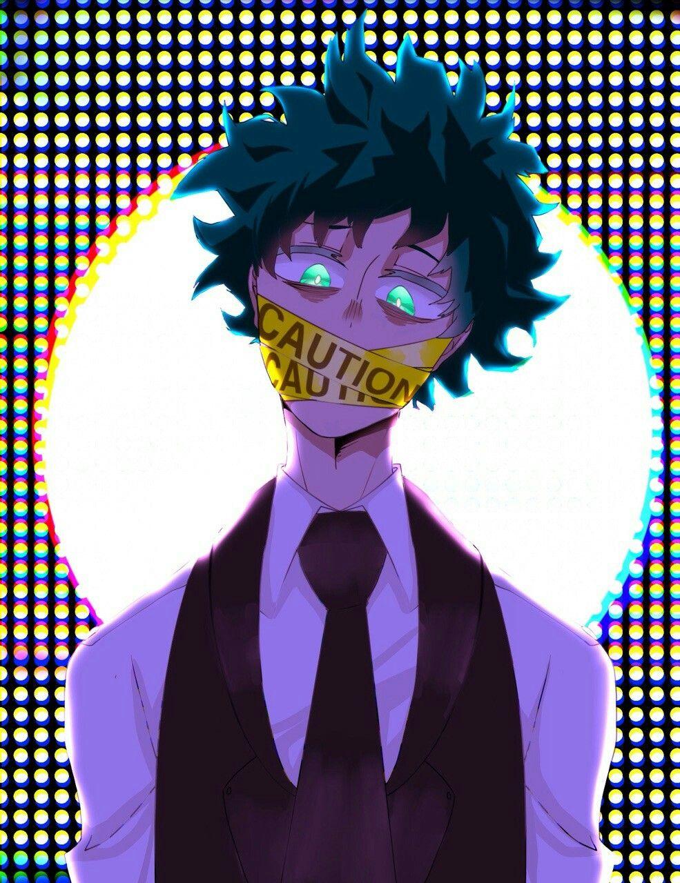 Boku No Hero Academia Izuku Midoriya Villain Izuku Villain Deku Hero Villain