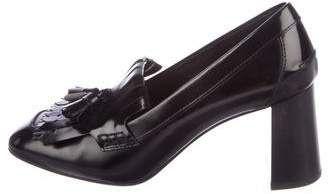 7112825148e Tod s Leather Kiltie Pumps