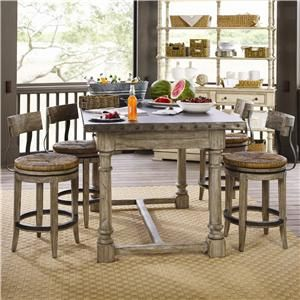 Terrific Twilight Bay 5 Piece Shelter Island Bistro Table Dalton Dailytribune Chair Design For Home Dailytribuneorg