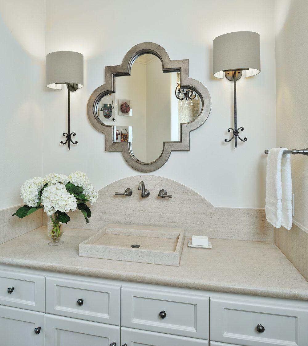 Powder Bath Round Up Designed Top 10 Bathroom Designs Bathroom Design Trends Bathroom Design [ 1122 x 1000 Pixel ]