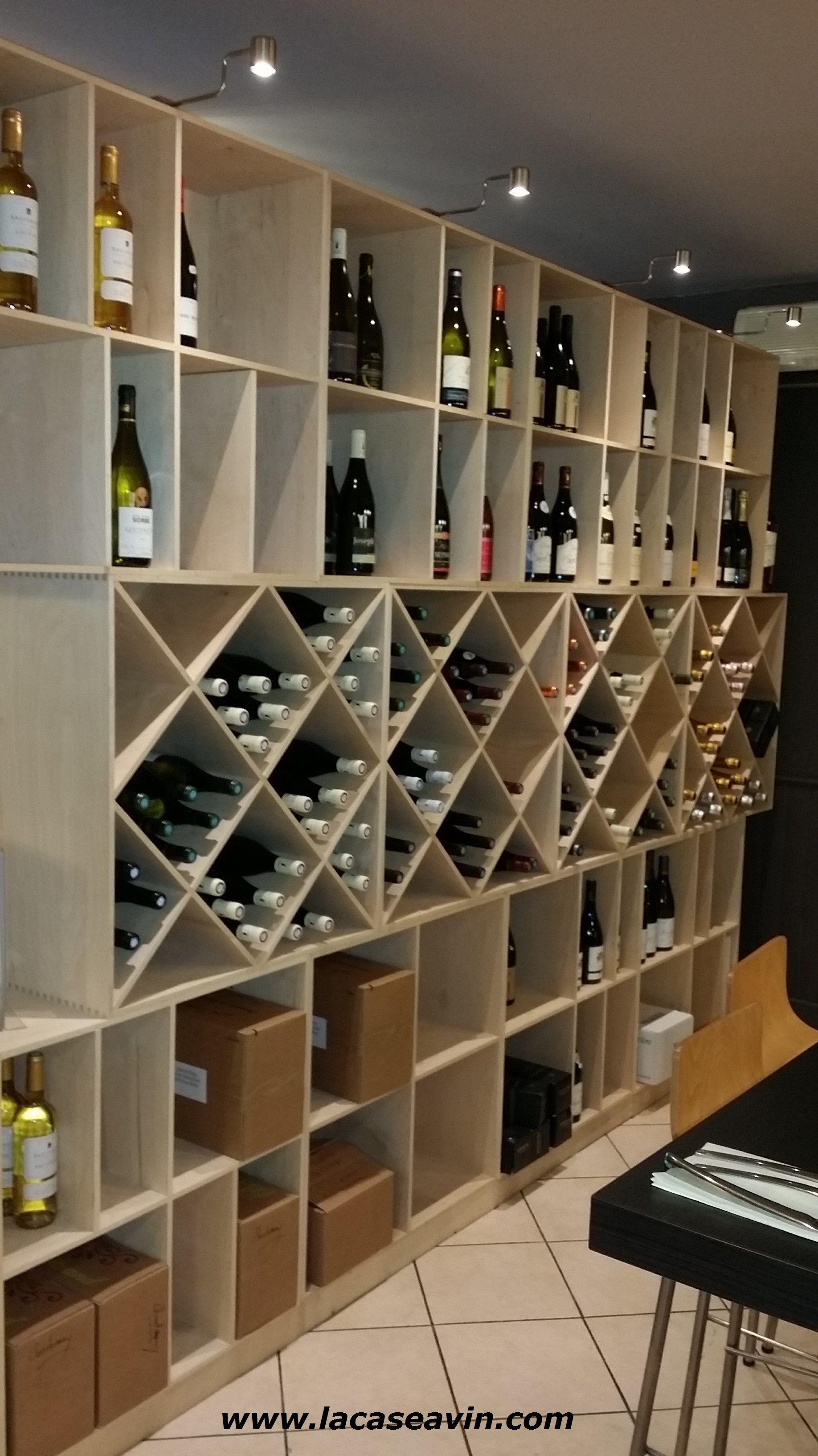 Amenagement Epicerie Restaurant Casier A Bouteille Rangement