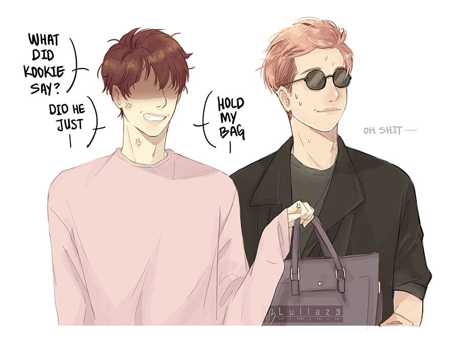 this site—- needs more namjin fanarts… no lie-  there's so little and rare!?