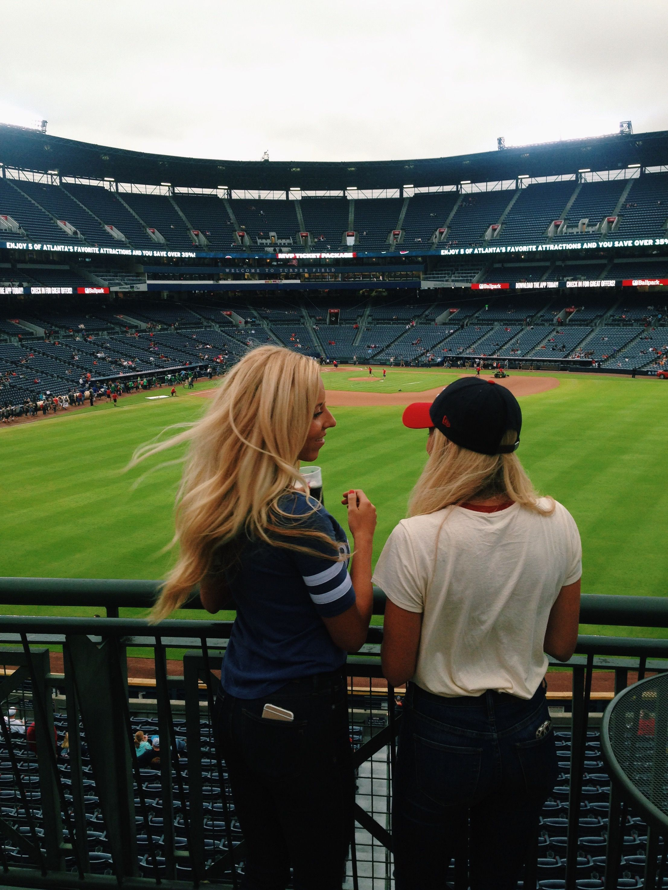 Atlanta Braves Baseball Baseball Game Outfit Tumblr