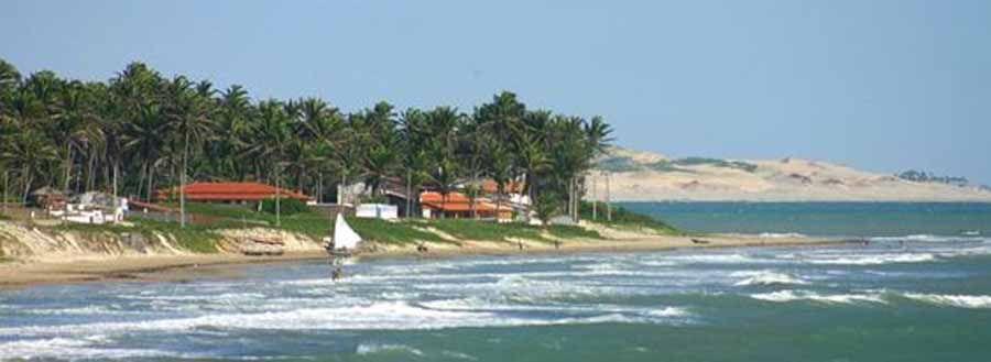 Praia da Baleia, Itapipoca - Ceará, BRASIL