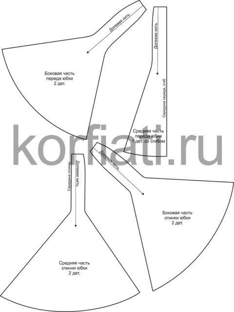 e606fb292 patron-para-hacer-una-falda-larga-corte-sirena-6 | Trucos de costura ...