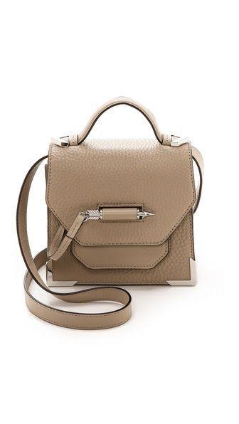 Mackage Rubie Small Cross Body Bag - Sand #fallfashion #nude #beige #taupe #bag #fashion #style #designer