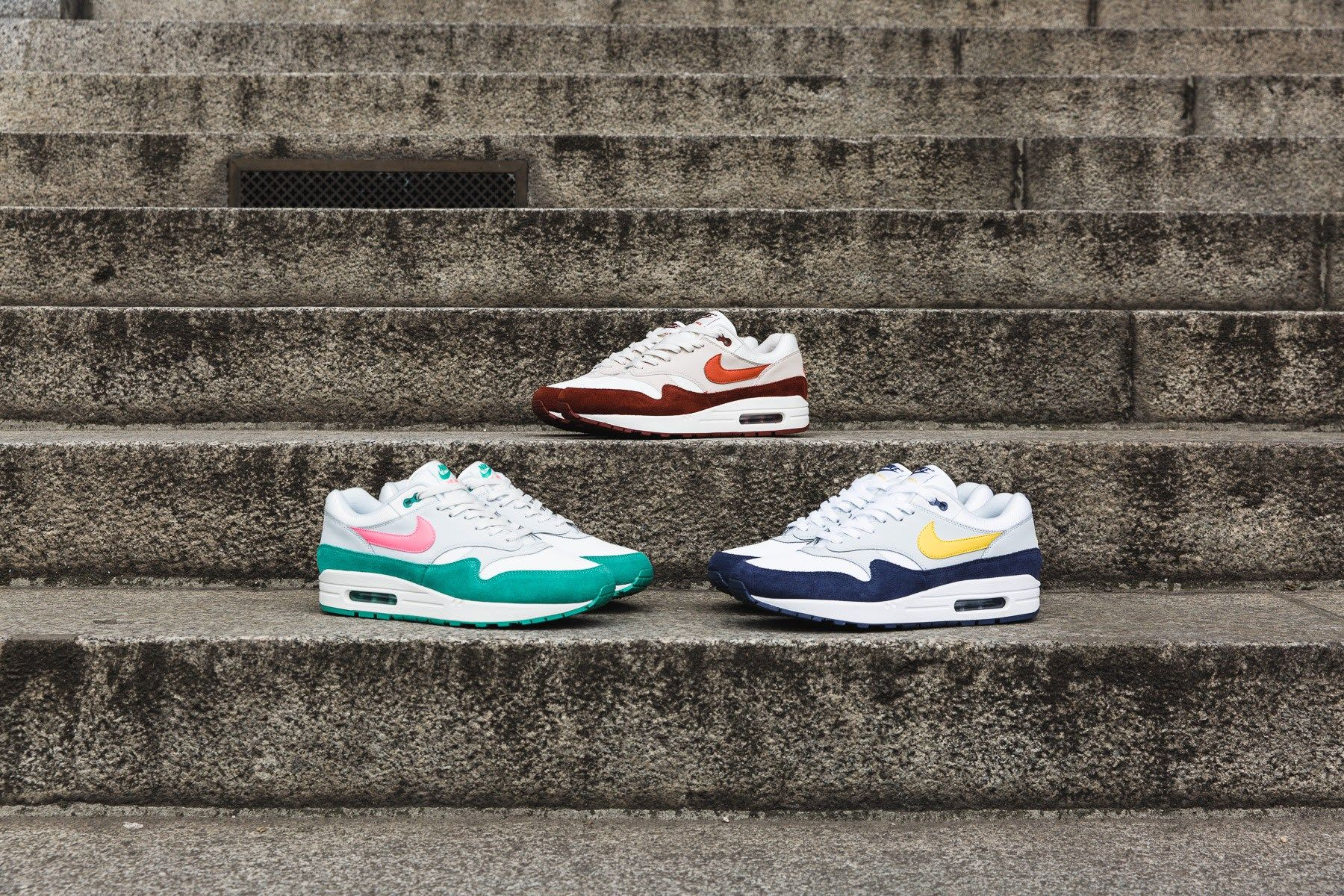 Nike Sportswear Dropping Four Air Max 1 Colorways in Europe to Start May -  EU Kicks