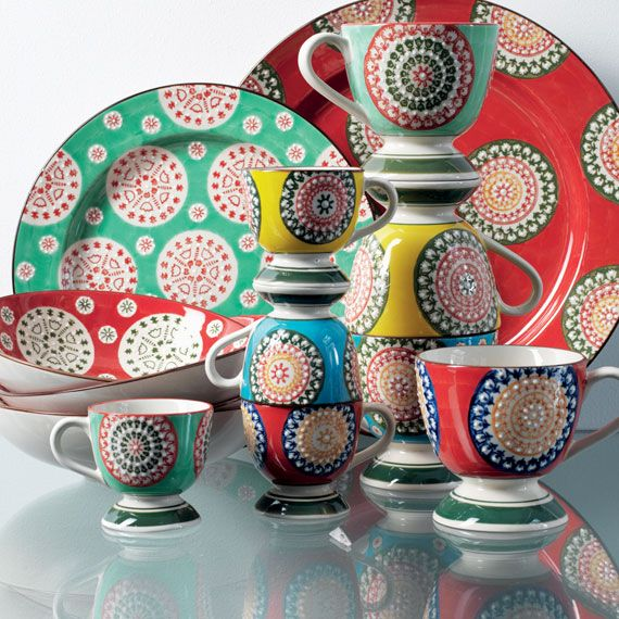 Dinnerware  sc 1 st  Pinterest : colourful dinnerware - pezcame.com