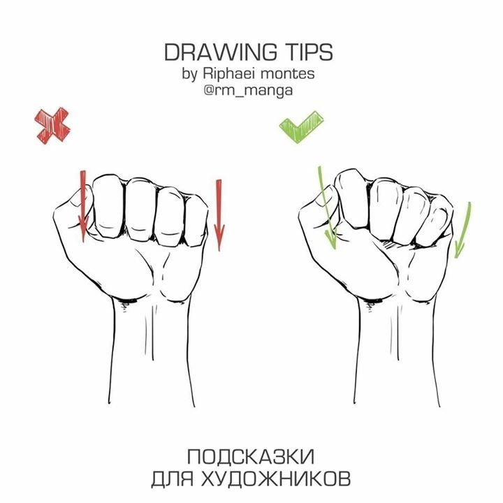 Clenched Or Closed Hand Drawing Design Drawing Tips Drawings Drawing Tutorial