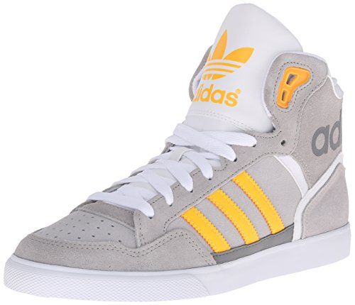 adidas Originals Women's Extaball W Fashion Sneaker, MGH Solid Grey/Solar  Yellow/LGH