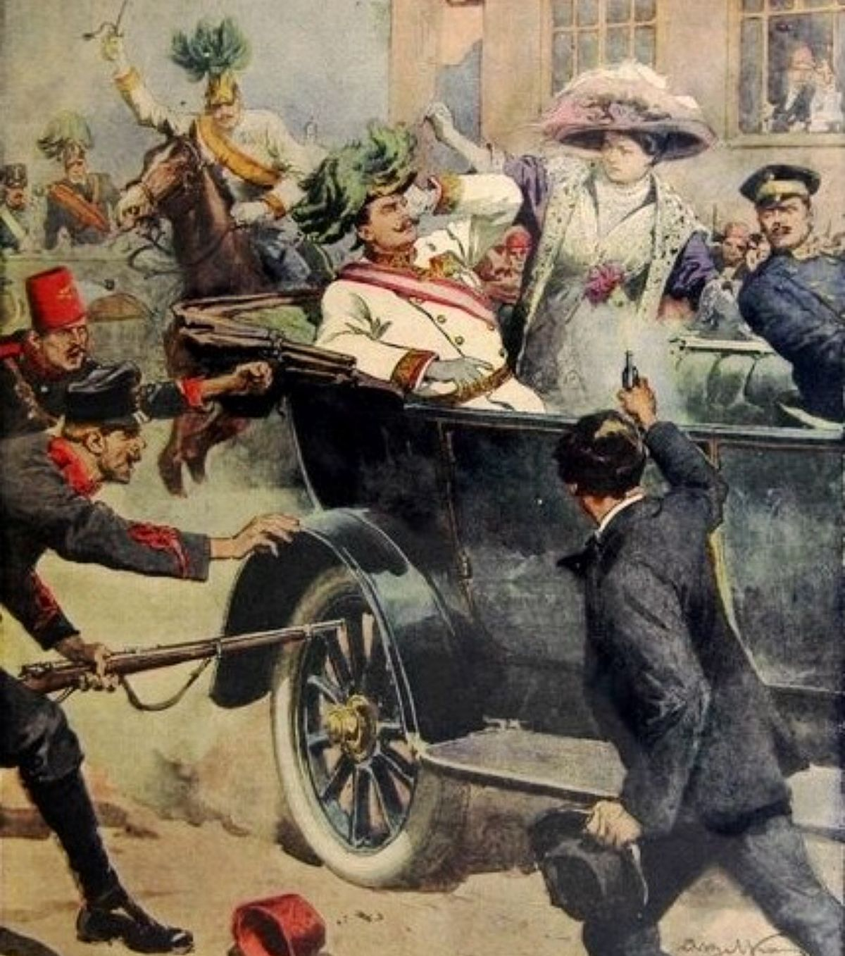 Assassination Of Archduke Franz Ferdinand Of Austria Wikipedia