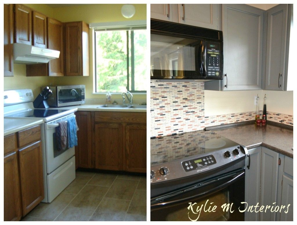 4 Ideas How To Update Oak Wood Cabinets Travertine
