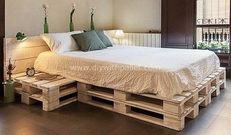Cheap Achievements with Used Wood Pallets #woodpalletfurniture
