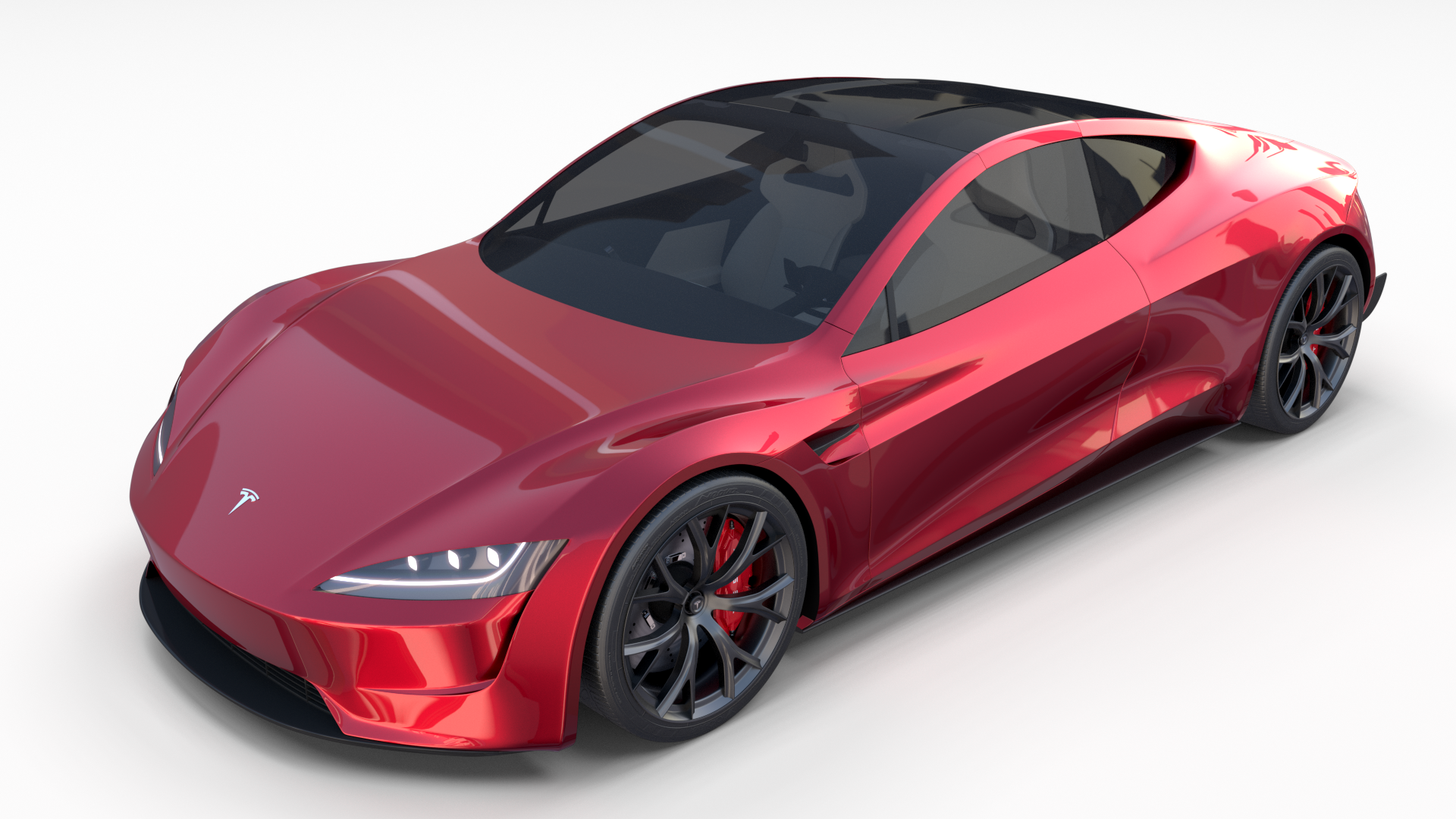 Tesla Roadster 2020 With Interior And Chassis Tesla Roadster Tesla Roadsters