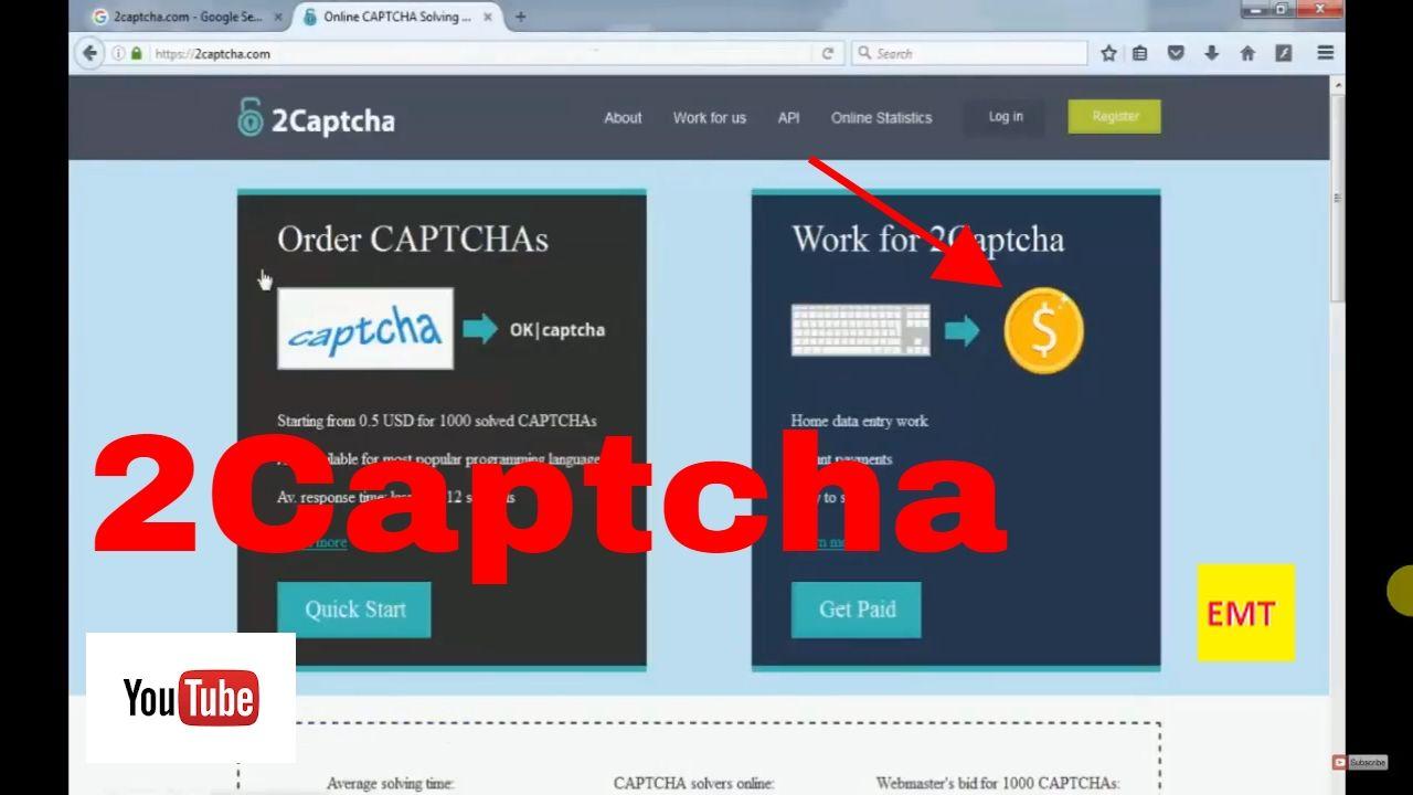 2Captcha - Make $10,000 Per Month Free Training 2017-2018