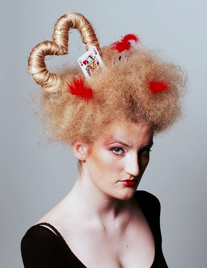 Queen Of Hearts Hair Ideas Vicky Potter Queen of ...