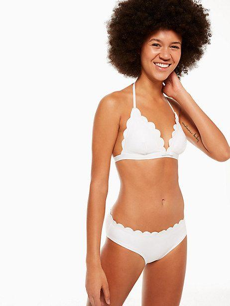 8948020e09f90 Kate Spade Marina Piccola Triangle Bikini Top