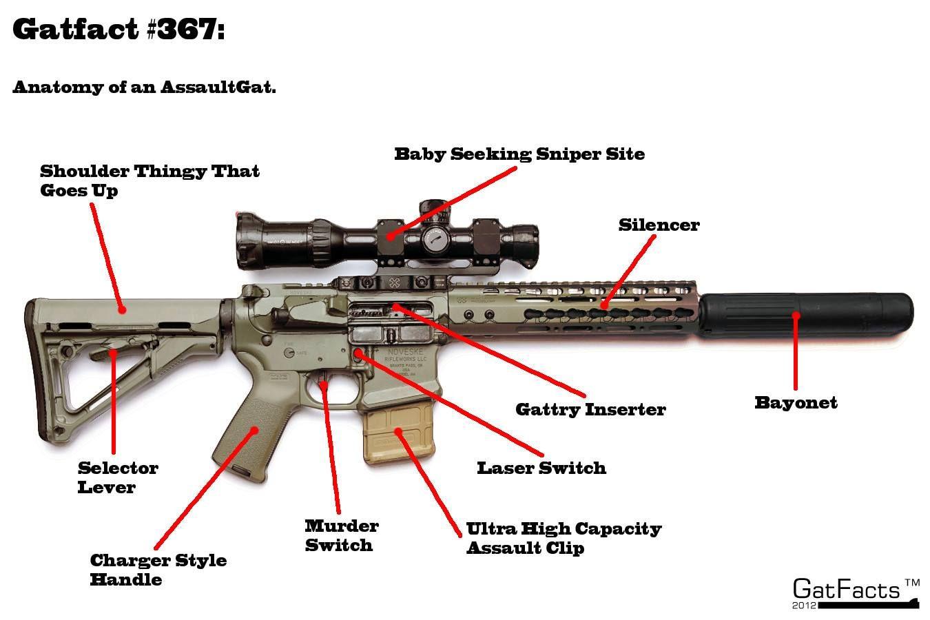 gun anatomy - Google Search | structural | Pinterest | Anatomy and Guns