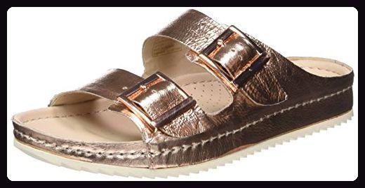 sports shoes 27234 a775b Clarks Netrix Rose, Damen Sandalen, Braun (Copper Leather ...