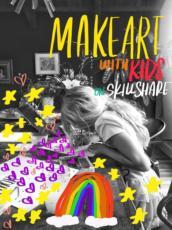 Make Art with Kids Summer projects, Make art, Kids